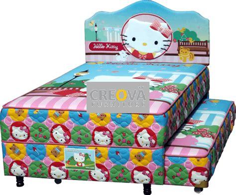 Bed Bigland Karakter set springbed bigland hello 2in1 120 toko jual