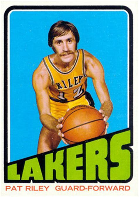 Pat Rilet Mba Card by 1972 Topps Pat 144 Basketball Card Value Price Guide