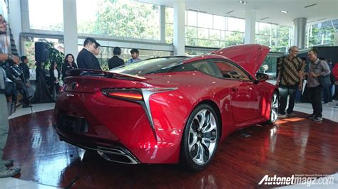 lexus indonesia belakang lexus lc500 indonesia autonetmagz review