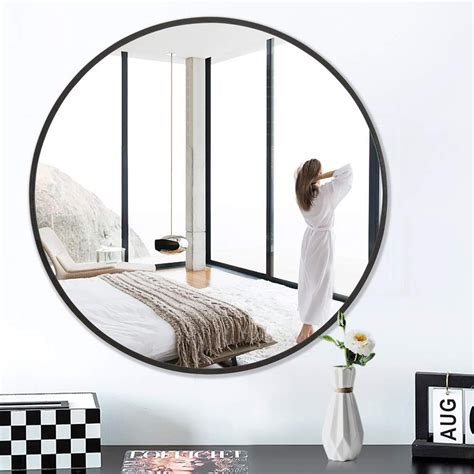 pexfix  wall mirror  metal frame   large