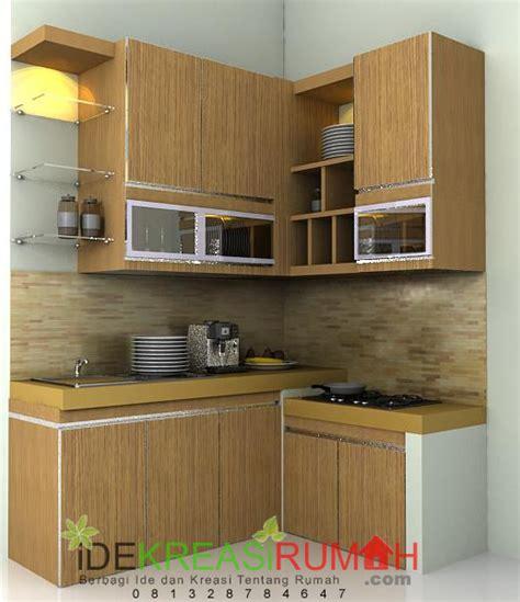 Harga Desain Kitchen Set Dapur Minimalis Kecil Elegant