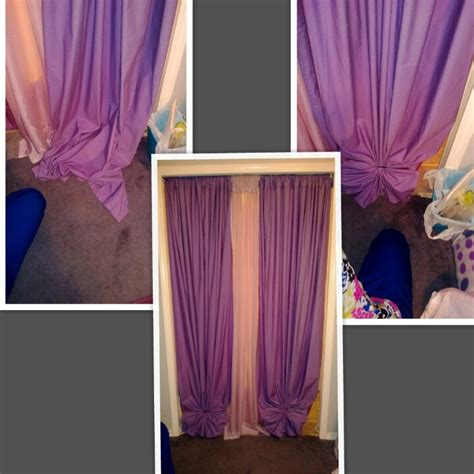 how to tie curtains that are too long 17 best images about drapes shower curtain on pinterest
