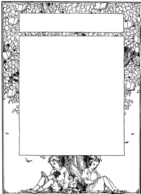 bookplate template bookplate clipart etc