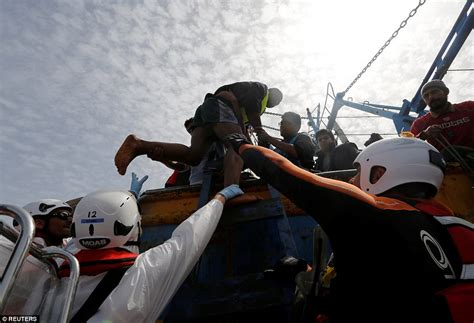 eu links charities to human traffickers the daily beast 6 000 migrants are plucked from the med over the weekend