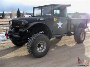 dodge 1953 m37 dodge power wagon turbo cummins 4bt