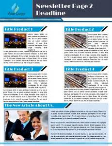 company newsletter templates free free newsletter templates pageprodigy