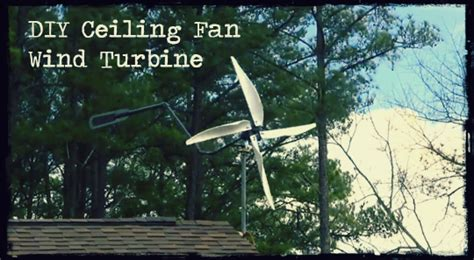 ceiling fan wind generator diy ceiling fan wind turbine preparing for shtf