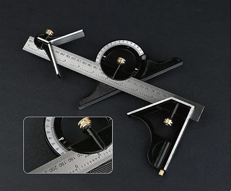 woodworking measuring tools 12 quot tri square ruler combination tools for woodworking