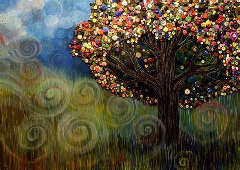 Button Painting button tree 0003 by furlow