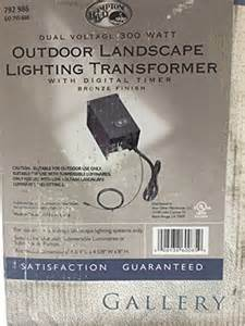hton bay outdoor lighting manual hton bay landscape lighting transformer manual