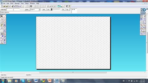 Layout Grid 2d Tab | cad progression creating objects in 2d design