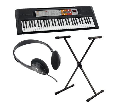 Dan Spesifikasi Keyboard Yamaha F50 yamaha psr f50 keyboard set mit st 228 nder kopfh 246 rer