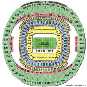 Seating Chart For Mercedes Superdome New Orleans Hotels Sold Out For Bowl In 2013