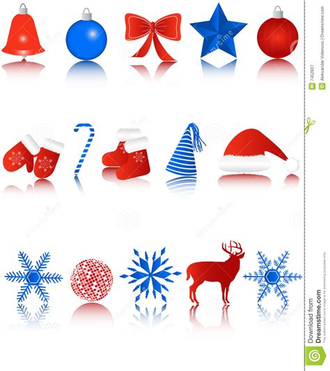new year icon set new year icons royalty free stock photography image 7452837