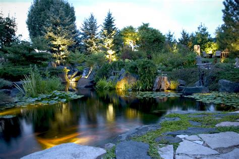 aquascape inc pond and landscape lighting tropical landscape chicago by aquascape inc