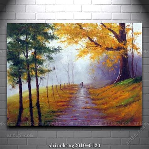 handpainted landscape oil painting impressionist art