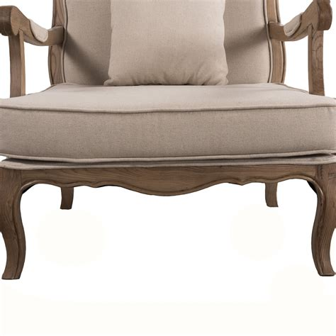 vintage french provincial sofa french provincial natural oak single sofa arm chair