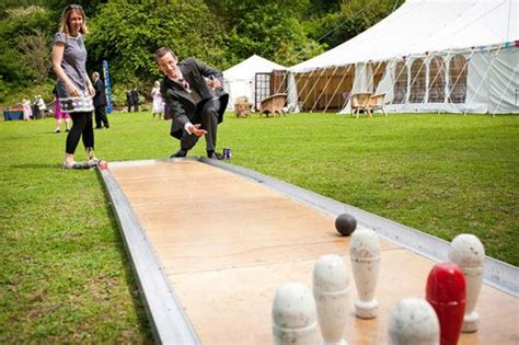 backyard wedding games outdoor games and a tent exactly wedding pinterest