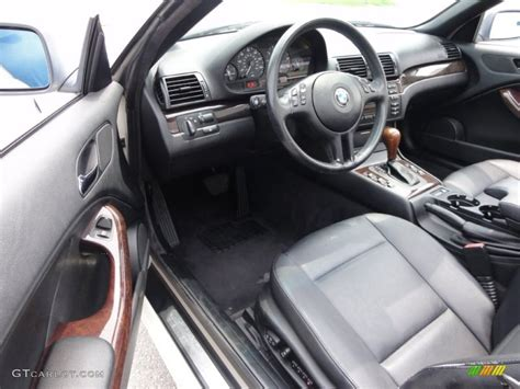 black interior 2000 bmw 3 series 323i convertible photo