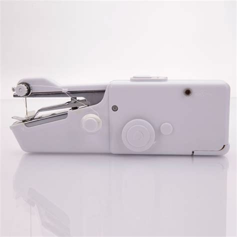 Handy Stitch Portable Handheld Sewing Machine Mesin Jahit L88c white held sewing machine portable stitch sew handy cordless repairs ebay