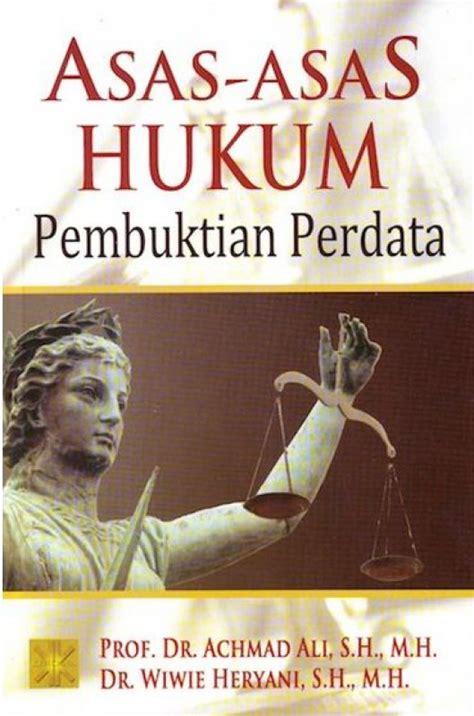 bukukita asas asas hukum pembuktian perdata