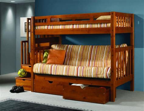 bunk bed with futon bottom astonishing bunk bed with futon on bottom atzine com