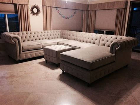 kenzie style custom chesterfield sofa or sectional