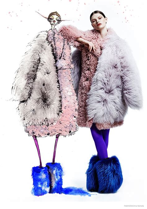 mittendorf doubles up in fur for fashion by chris nicholls