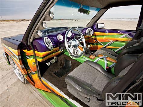 Custom Part 10 1988 chevy s10 custom chevy trucks mini truckin magazine