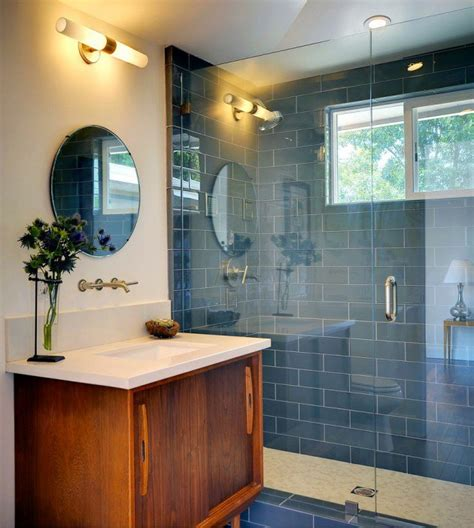 Bathroom Vanity Storage Ideas by 30 Beautiful Midcentury Bathroom Design Ideas