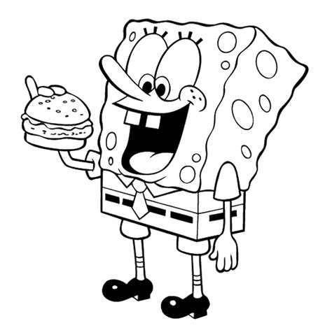 spongebob coloring page pdf spongebob and gary coloring page spongebob coloring