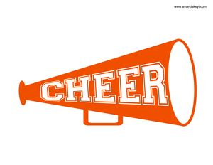 cheer megaphone template cheer megaphone template pictures to pin on