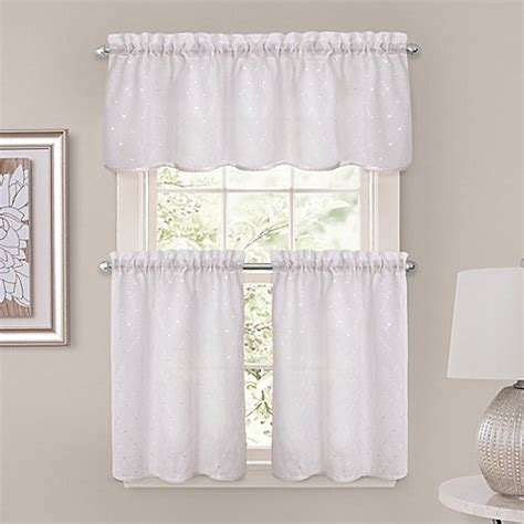 tier curtains bedroom crystal brook window curtain tier pair in white bed bath