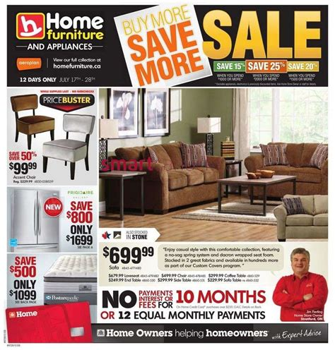 home furniture canada flyers