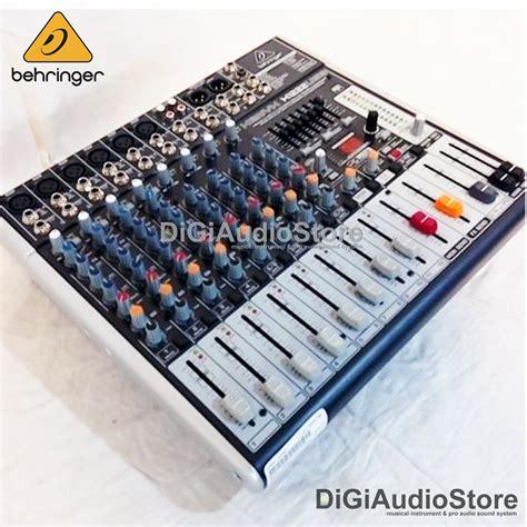Mixer Audio Behringer 6 Chanel jual behringer x1222usb x 1222 usb audio mixer 12