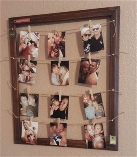 diy picture frame guy gifts and boyfriends on pinterest
