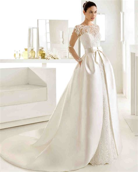 Wedding Dresses With by 46 Pretty Wedding Dresses With Pockets Martha Stewart