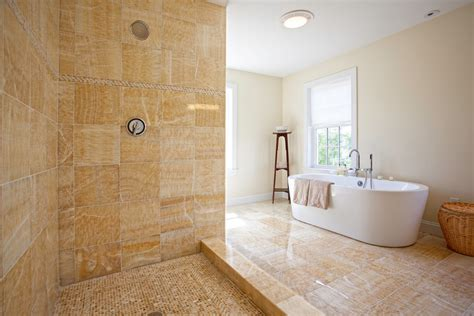 onyx bathroom designs honey onyx tile bathroom traditional with curtains drapes