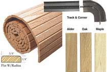 Wood Roll Up Cabinet Doors Woodworker You Can Create Roll Up Doors With This Solid Wood Tambour 24x96 Alder Tambour