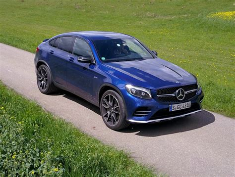mercedes glc coupe amg 2017 mercedes amg glc 43 coupe review carhoots