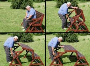 bench that folds into a picnic table folding picnic table to bench