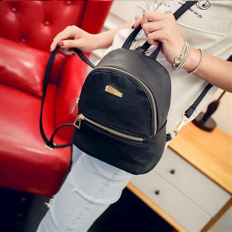 Tas Ransel Wanita Kulit Fashion tas ransel fashion wanita kulit black