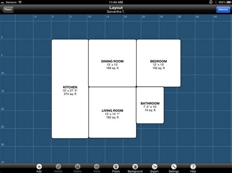 design floor plans app best ipad app design floor plan ipad application design