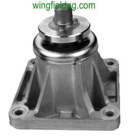 double pulley mtd 46 inch mower deck spindle assembly for mtd 46 inch decks left uses