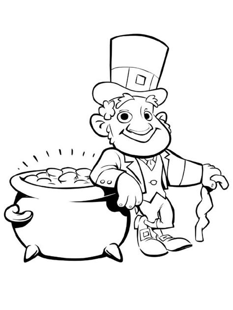 printable leprechaun images leprechaun coloring pages best coloring pages for kids