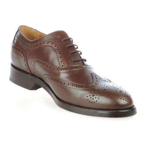 Humm3r Hadex Brown 39 44 wingtip brogue brown 39 rooster league touch of modern