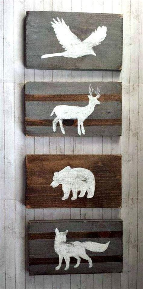 Fox Hunting Decor For The Home by Woodland Nursery Wood Set Tribal Decor Rustic Nursery