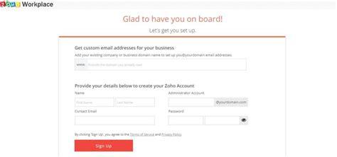 Domain Name Free Zoho