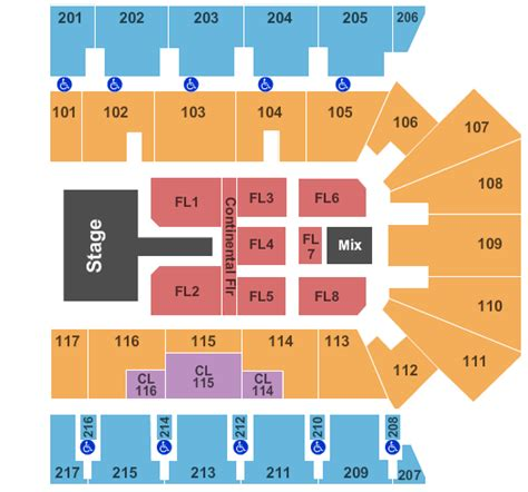 american bank center rodeo seating chart american bank center tickets corpus christi tx american