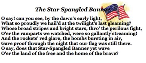 coloring page of the star spangled banner star spangled banner coloring pages images